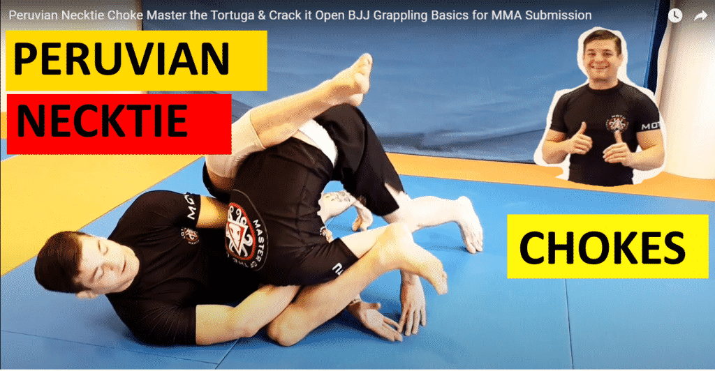 Peruvian Necktie Choke Master the Tortuga & Crack it Open BJJ Grappling Basics for MMA Submission